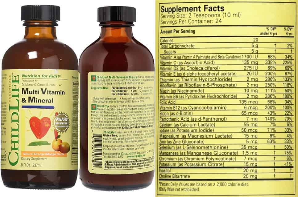 ChildLife Multi Vitamin & Mineral
