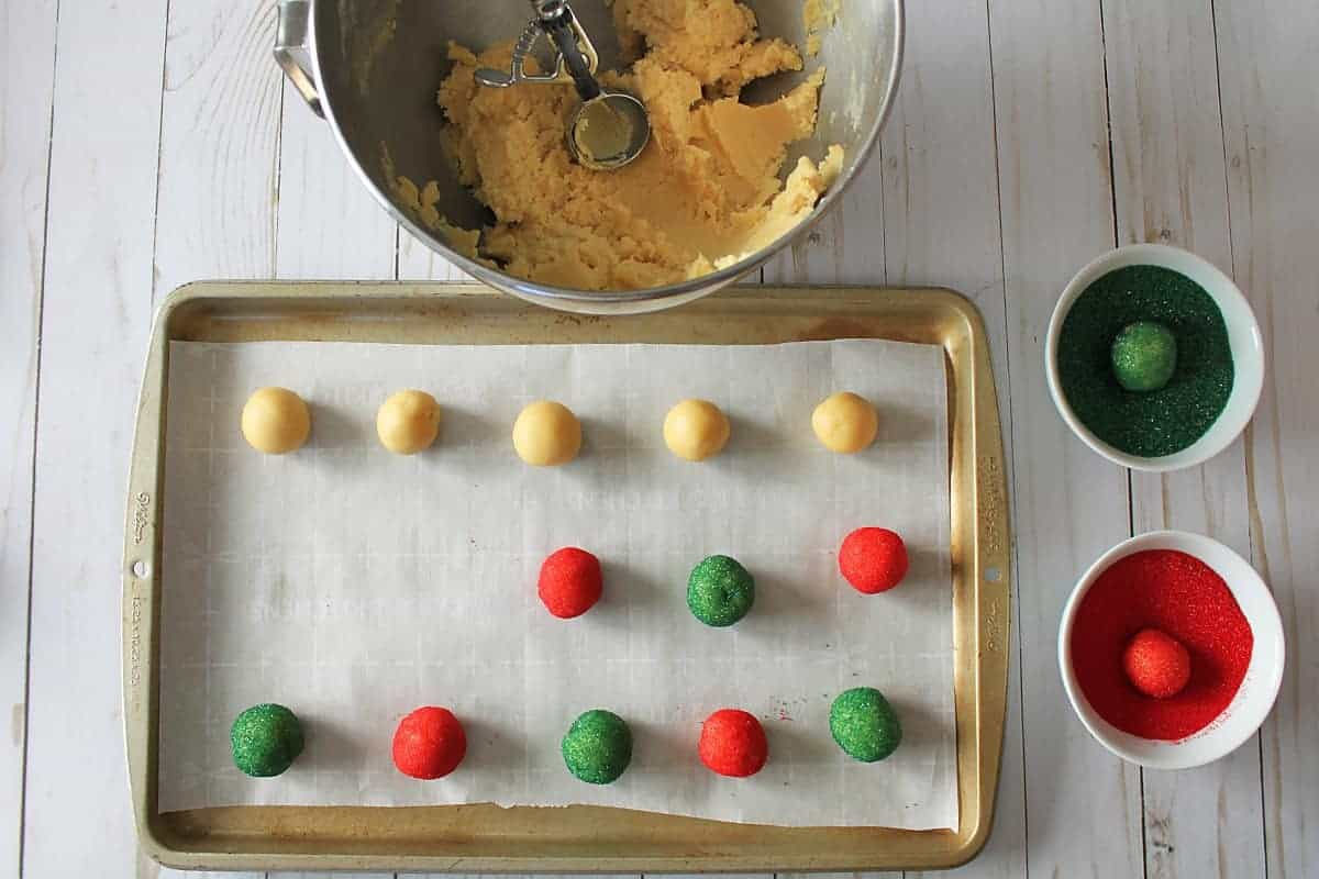Christmas Candy Cane Sugar Cookies