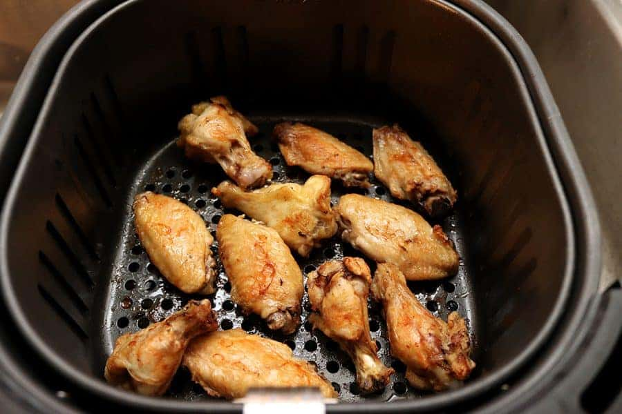 Air Fryer Naked Chicken Wings
