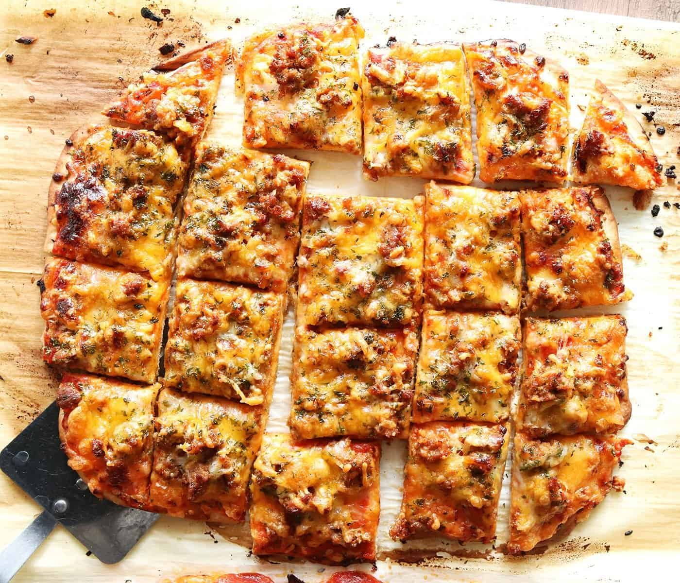 Crispy Homemade Pizza Crust
