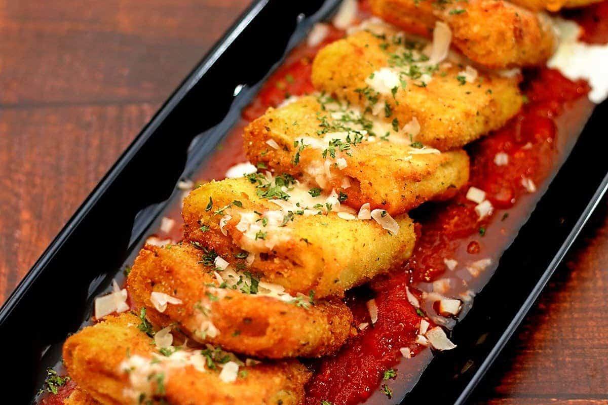 Air Fryer Five Cheese Lasagna Fritta